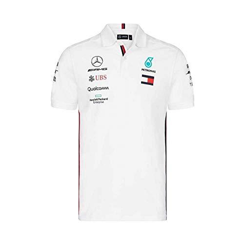 T-SHIRT kids Formula One 1 Mercedes AMG Petronas F1 Team Child NEW White