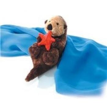 Plush Otto Sea Otter Mini Flopsie 8