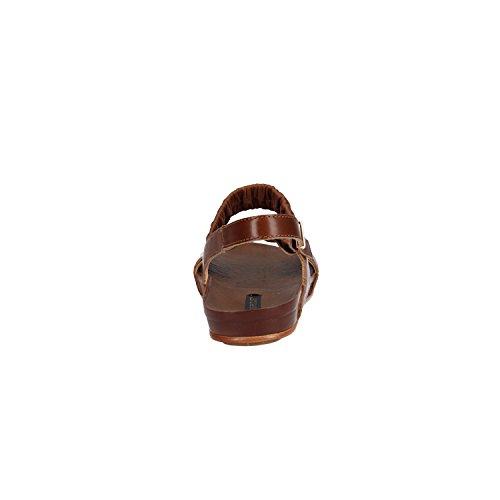 RESTAURER Neosens Sandale Cuir en S955 Marron Peau xwqPzXa