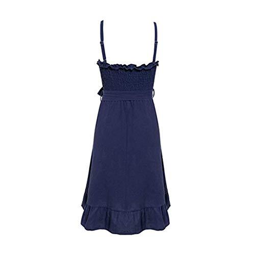 EOWEO Hot - Faldas para Mujer, 2019d, Sexy, sin Hombros, sin ...