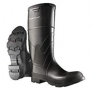 "Knee Boots, Sz 11, 16"" H, Black, STL, PR"