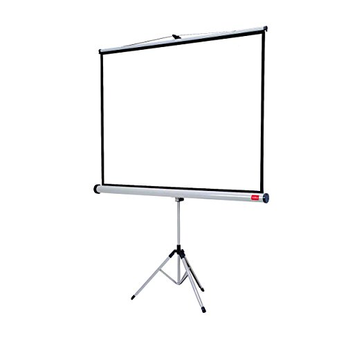 Nobo 1902397 Tripod Projection Screen Home Theatre/Office/Cinema, 4:3...