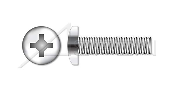 Aspen Fasteners #4-40 X 11//16 Pan Phillips Drive Machine Screws AISI 304 Stainless Steel Full Thread 18-8 150 pcs
