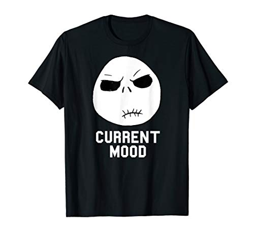 Disney Nightmare Before Christmas Current Mood T Shirt (Adult Clothes Christmas)