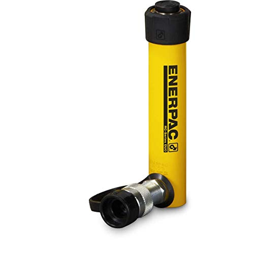 Enerpac RC-53 Single-Acting Alloy Steel Hydraulic Cylinder with 5 Ton Capacity, Single Port, 3