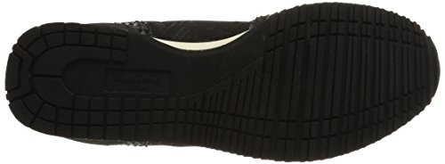 Pepe Jeans GABLE GLITTER - zapatilla deportiva de material sintético mujer negro - Schwarz (999BLACK)