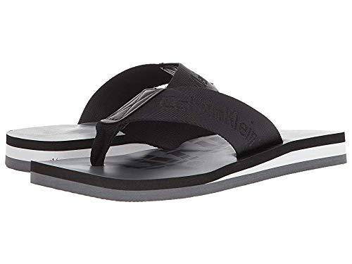 Calvin Klein Mens Acelin Black 12 M (Klein Calvin Shoes Sandal Men)