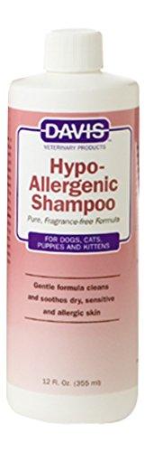 Davis Hypoallergenic Shampoo - Davis Hypoallergenic Pet Shampoo, 12 oz