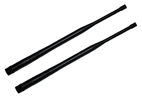 - A Pair of 1/2 Wave Receiver Antennas for Shure UHF-R,ULX,SLX,QLX-D,ULX-D,BLX4R Receivers