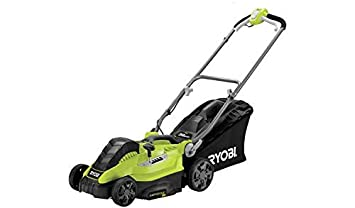 Charles Bentley 38cm 1800W Electric Wheeled Lawnmower 50L Collection Bag