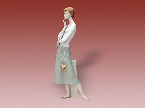 """Hitchhiker"" Royal Dux Porcelain Figurine"