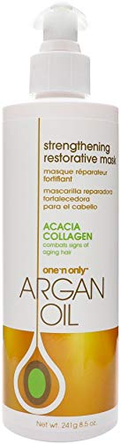 one 'n only Argan Oil Restorative Mask Derived from Moroccan Argan Trees, 8.5 Ounce (AOILRM8)