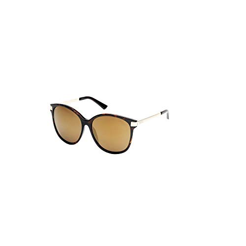 - Kenneth Cole Reaction Cat Eye Mirrored Sunglasses in Tortoiseshell