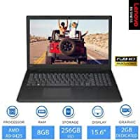 Lenovo V145-AMD-A6 15.6 inch HD Thin and Light Laptop (4GB RAM/ 1TB HDD/ DOS/ with DVD Writer/ Black/ 2.1 kg), 81MT0034IH