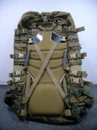 USMC Field Pack, MARPAT Main Pack, Woodland Digital Camouflage, Spare Part, Component of Improved Load Bearing Equipment ILBE by Propper ARC TERYX