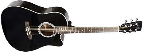 OQAN QGA-21C BK GUITARRA ACUSTICA: Amazon.es: Instrumentos musicales