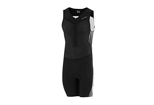 Orca Men's 226 Kompress Tri Race Suit (Black/White, Medium)
