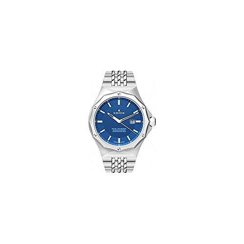 Edox Women's 54004 3M BUIN Delfin Analog Display Swiss Quartz Silver Watch