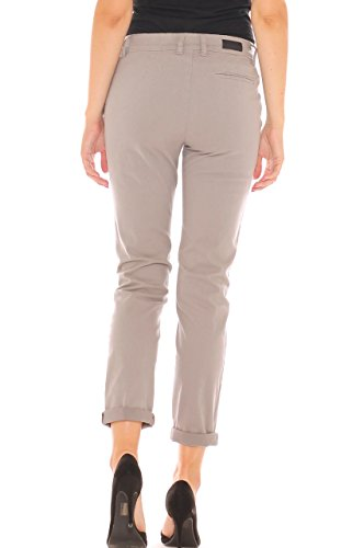 Argento X Pantalone Velluto cape Chino In Donna Stretch T8qwT1
