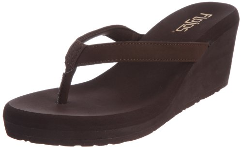 Flojos Women's Olivia, Brown, 5 M US
