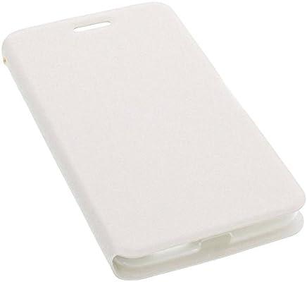 foto-kontor Funda para Archos 55 Helium Ultra Estilo Libro Blanca Protectora: Amazon.es: Electrónica