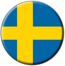 e865845b Amazon.com : Sweden Swedish Flag - Metal Lapel Hat Pin Tie Tack Pinback :  Everything Else