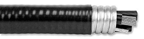 500' 3/0-3/0-3/0-3/0-4 Interlock Armor MC Cable XLP Jacketed 4CDR+GRND Aluminum