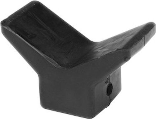 (Seasense Black Rubber Bow Stop (4-Inch))