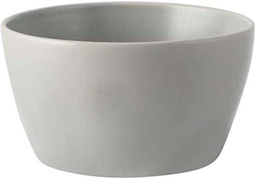 wei/ß 14cm H 7,5cm grau CREATIVE TOPS 6er Set M/üslischalen Gourmet Basics D