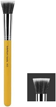 Bdellium Tools Studio Line Duet Fiber Foundation Brush, Yellow