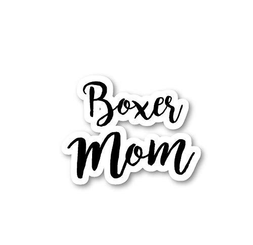 Boxer Sticker Dog Mom Stickers - Laptop Stickers - 2.5