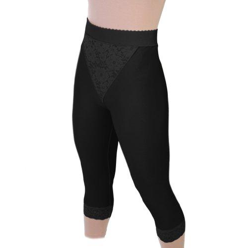 ContourMD Post Abdominoplasty - Slip On Mid Calf Girdle Open Crotch Style 15 (Mid Calf Girdle)