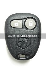 Keyless Entry Remote Fob Clicker for 1997 Dodge Viper With Do-It-Yourself Programming