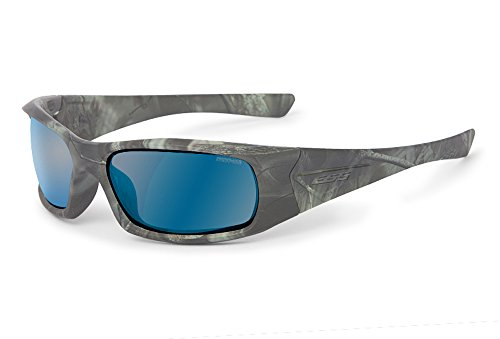 ESS Mirrored Sunglasses Reaper Polarized Woods ESS by Lens 5B Blue with xRqF1f4