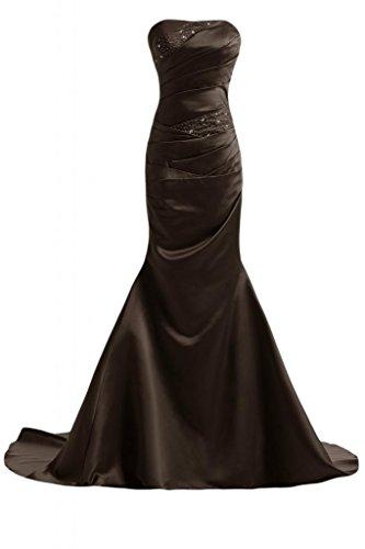 abito lungo Pageant Costume sirena Sunvary ufficiale Marrone Bella sera Donna da da fXxwUUEHqB