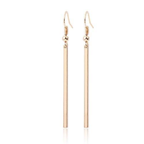 Amiley earrings for women cheap , 1pair Hooked Earrings Fashion Lady Jewelry Earrings Sets (Gold)