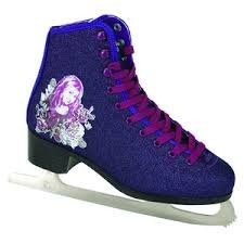 Hannah Montana Girls Size 5 Figure Skates by Disney