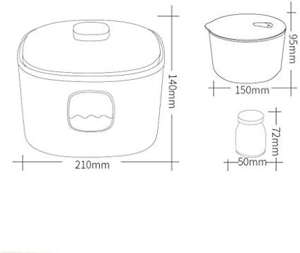 220V 1L Macchina Yogurt Automatico Fatto in Casa Maker Yogurt Elettrico Crema Rendendo Macchina,15W