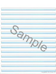 amazon com brightlines paper blue narrow 3 8 14 lines per page 3