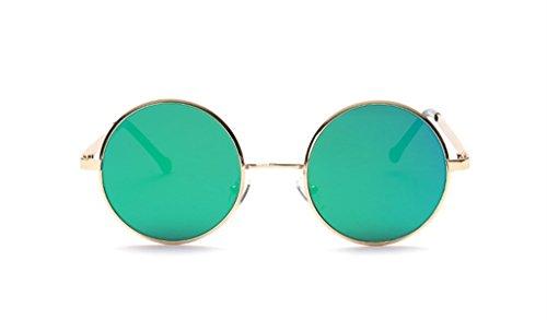 The Big Retro Sunglasses Metal Frame Tide Colorful Round The - Philippines Glasses Frames Prescription