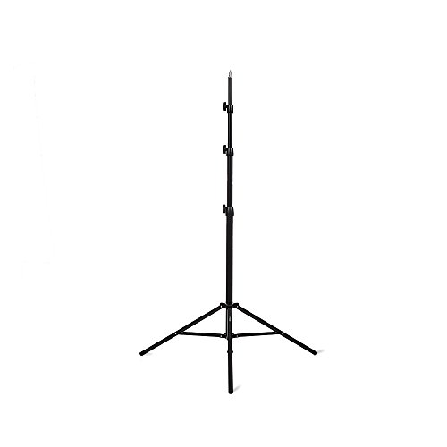 Fovitec - 1x 8'3'' Photography & Video Light Stand - [For Lights, Reflectors, Modifiers][Collapsible][Ergonomic Knobs] by Fovitec
