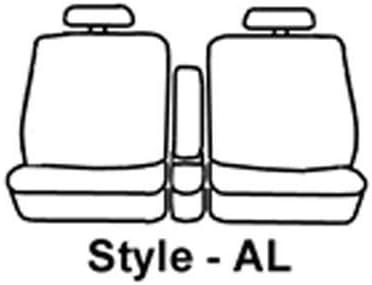 Covercraft SeatSaver Front Row Polycotton Charcoal Charcoal SS3443PCCH
