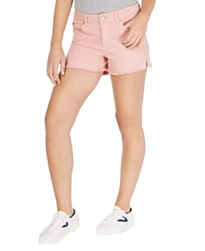 Celebrity Pink Juniors' Colored Cutoff Denim Shorts (Rose Tan, ()