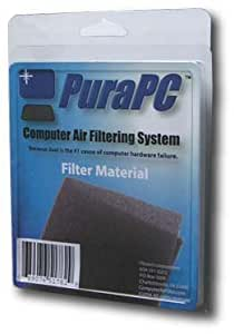 Computer Air Filter - Polyurethane Foam Filter Protects Hard Drives From Dust - By PuraPC