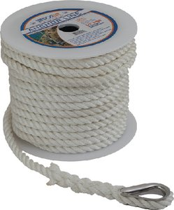Sea-Dog Line 301112200WH-1 anchor line white 1/2