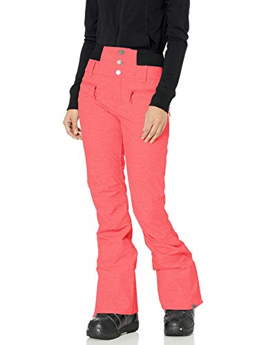 Roxy SNOW Women's Rising High Pant, living coral, S
