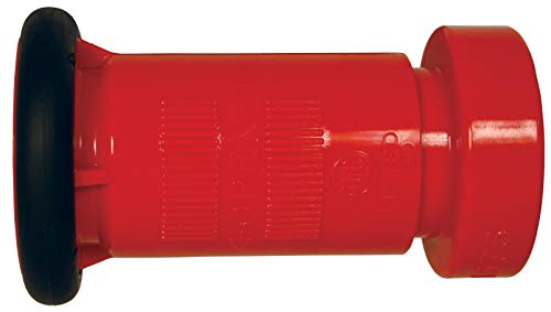 Dixon Valve CFB2015S Thermoplastic Fire Equipment, Constant Flow Fog Nozzle, 2' SIPT (NPSH) - Red