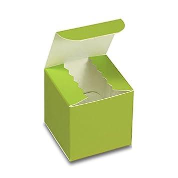 Amazon.com: Caja de Regalo de cartón verde lima 3