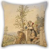 - Artistdecor Pillow Cases Of Oil Painting Ludwig Richter (German - Spring Has Arrived 20 X 20 Inches / 50 By 50 Cm,best Fit For Chair,teens Boys,boys,club,outdoor,teens Boys Two Sides