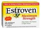 Estroven Estroven Maximum Strength Caplets, 28 CAPLETS (Pack of 12)